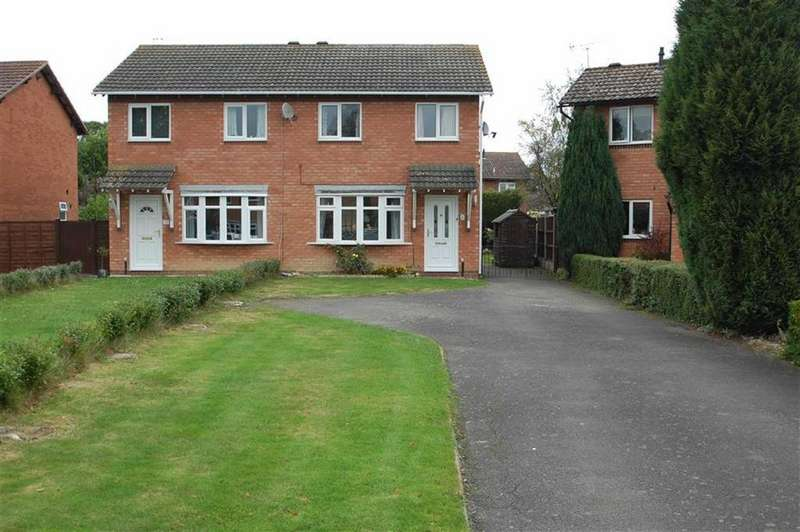 3 Bedrooms Semi Detached House for sale in West Edge, Bicton Heath, Shrewsbury