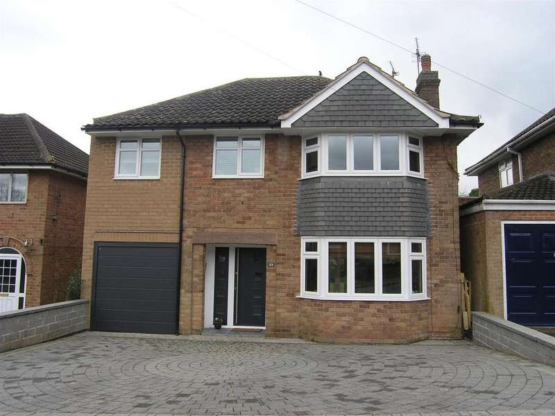 4 Bedrooms Detached House for sale in Abbey Road, Enderby, Leicester