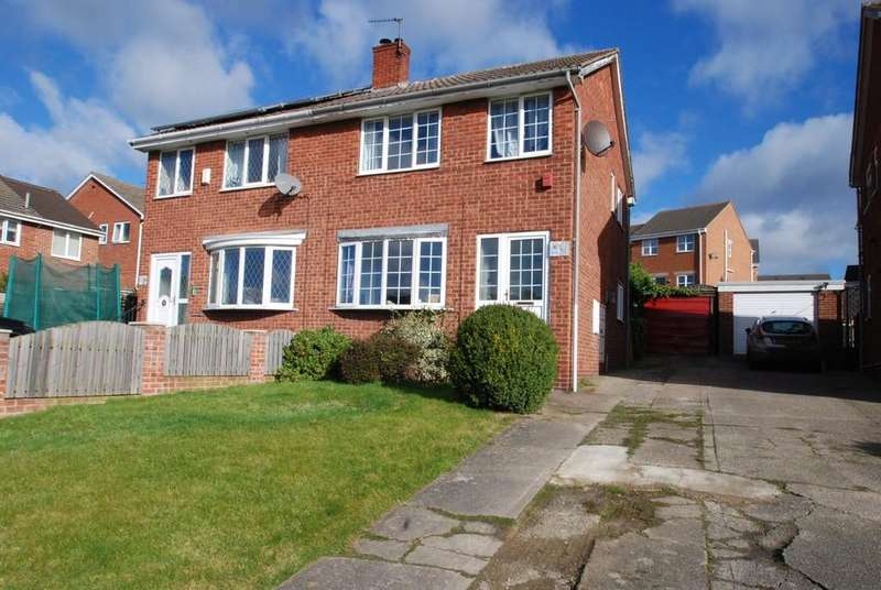 3 Bedrooms Semi Detached House for sale in Sparkfields, Mapplewell S75