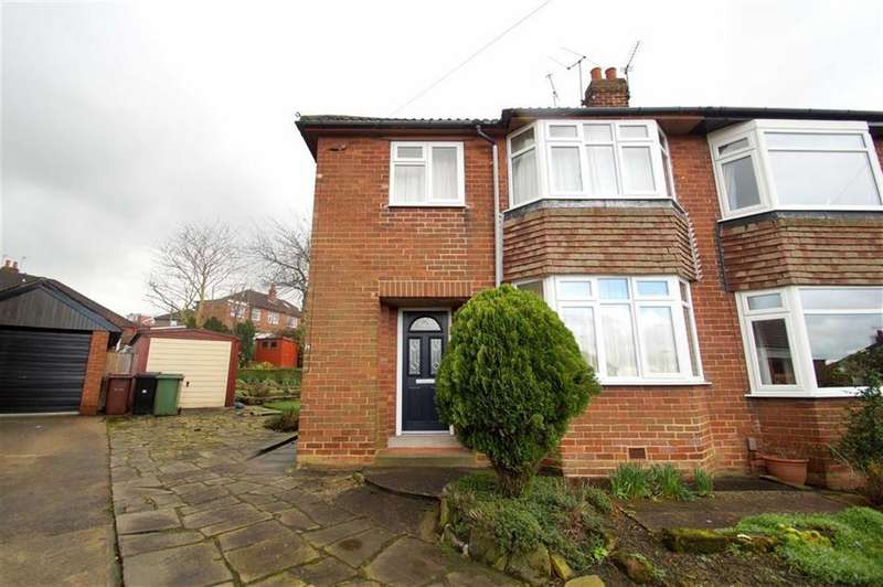 3 Bedrooms Semi Detached House for sale in Templestowe Hill, Leeds