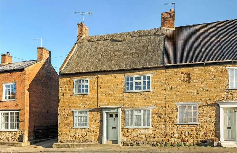 3 Bedrooms Semi Detached House for sale in West End, West Haddon, Northamptonshire, NN6
