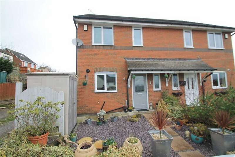 3 Bedrooms Semi Detached House for sale in Vron Close, Brymbo, Wrexham