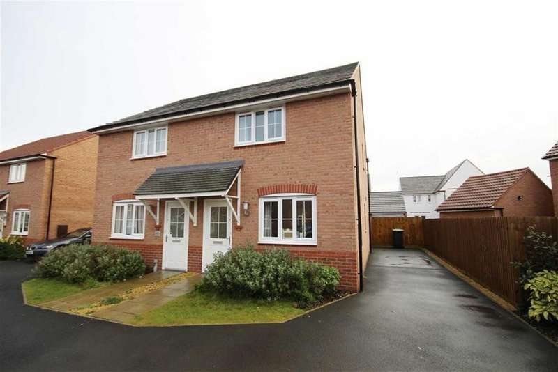 2 Bedrooms Semi Detached House for sale in Tacitus Way, North Hykeham, Lincoln, Lincolnshire