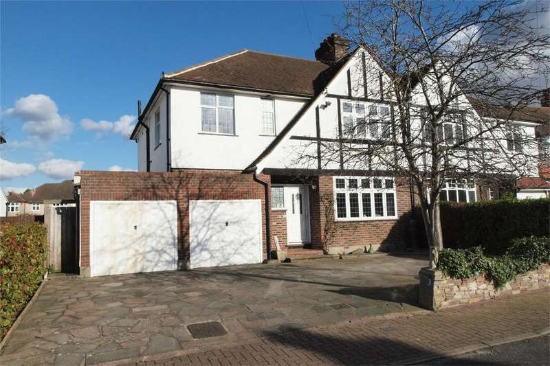 4 Bedrooms Semi Detached House for sale in Druids Way, Bromley, Kent