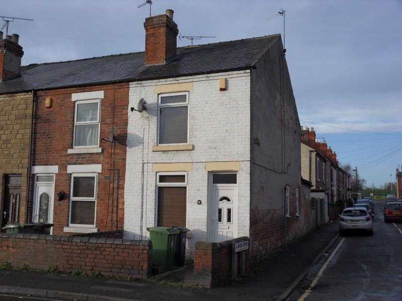 2 Bedrooms End Of Terrace House for sale in Cromford Road, Langley Mill