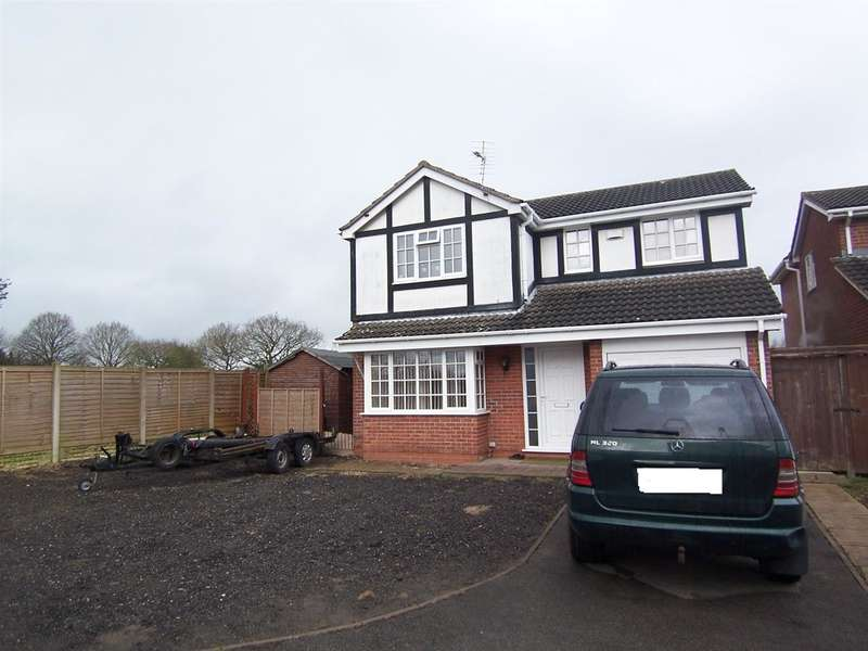 4 Bedrooms Detached House for sale in Whyston Court, Hucknall