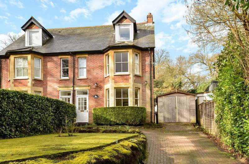 4 Bedrooms Semi Detached House for sale in Marley Lane, Haslemere, GU27