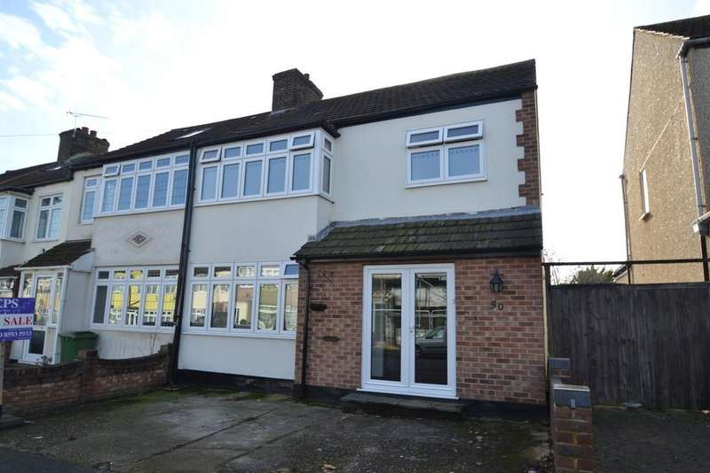 4 Bedrooms End Of Terrace House for sale in Benets Road, Hornchurch