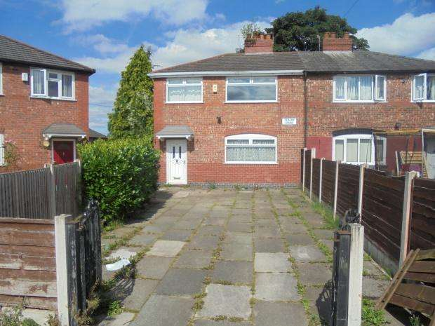 3 Bedrooms Semi Detached House for sale in Tealby Road, Manchester, M18