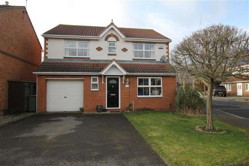4 Bedrooms Detached House for sale in Burdale Close, Stockton-on-tees, Cleveland