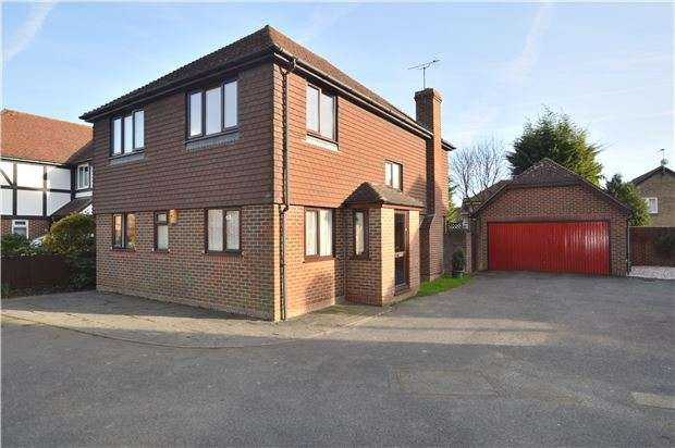 4 Bedrooms Detached House for sale in St. Ediths Court, Kemsing, SEVENOAKS, Kent, TN15 6JQ