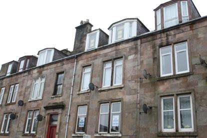 2 Bedrooms Flat for sale in Royal Street, Gourock