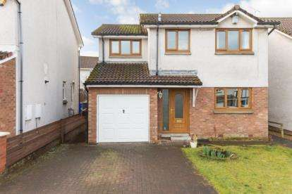 4 Bedrooms Detached House for sale in Gartclush Gardens, Bannockburn