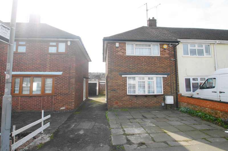 3 Bedrooms End Of Terrace House for sale in Dallow Road,Luton