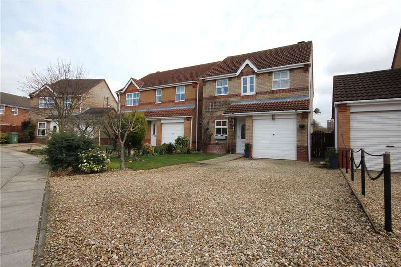 3 Bedrooms Detached House for sale in Darwin Court, Grimsby, DN34