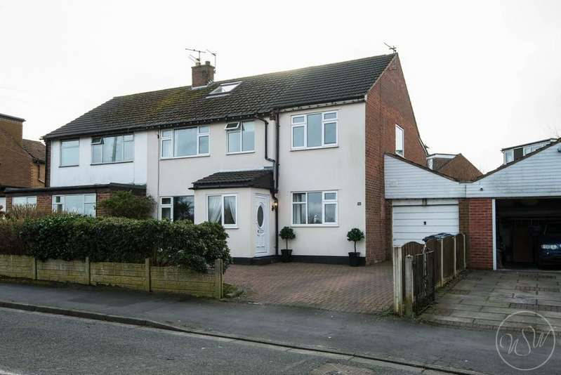 5 Bedrooms Semi Detached House for sale in Black Moss Lane, Aughton