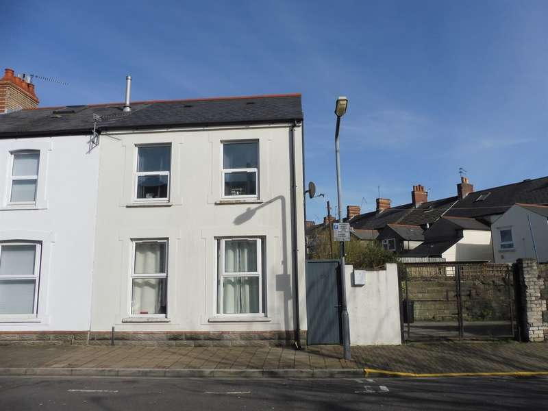 2 Bedrooms End Of Terrace House for sale in Bradley Street, Cardiff