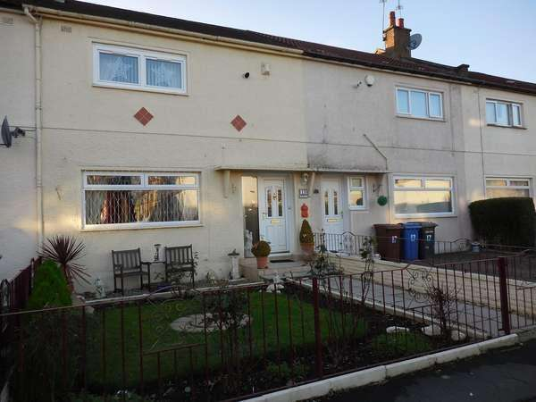 2 Bedrooms Terraced House for sale in 15 Brackla Avenue, Clydebank, G81 1HY