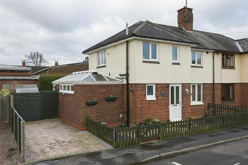 3 Bedrooms Semi Detached House for sale in York Street, Market Harborough, Leicestershire
