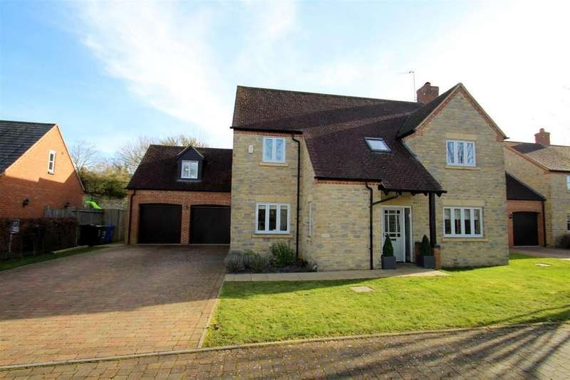 5 Bedrooms Detached House for sale in Oak View, Potterspury, Towcester
