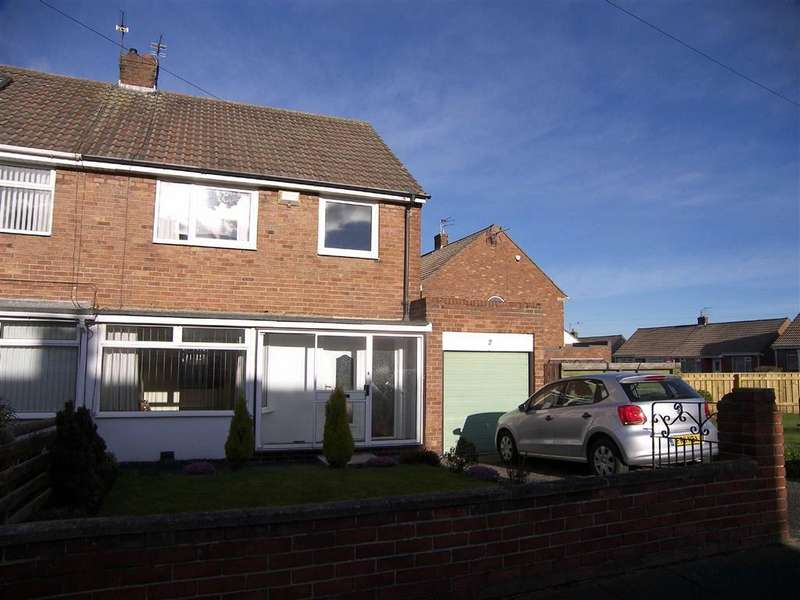 3 Bedrooms Semi Detached House for sale in Allendale Crescent, Shiremoor, NE27