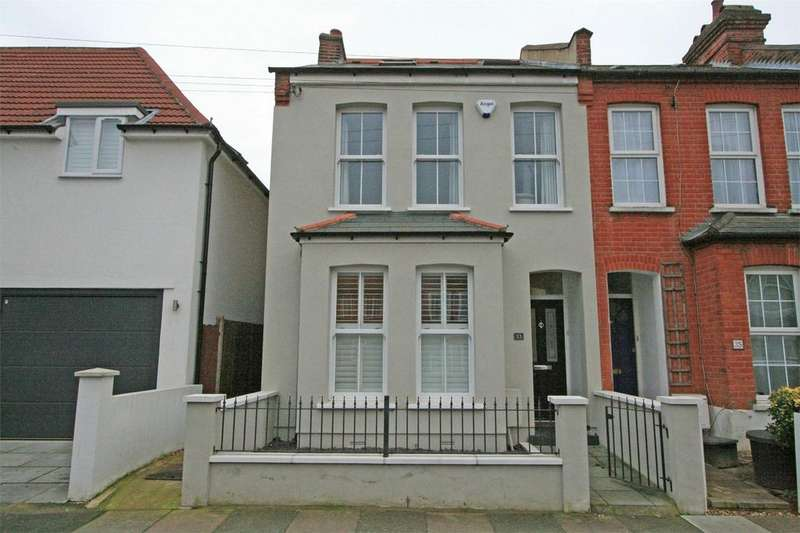 4 Bedrooms End Of Terrace House for sale in Godwin Road, Bromley, Kent