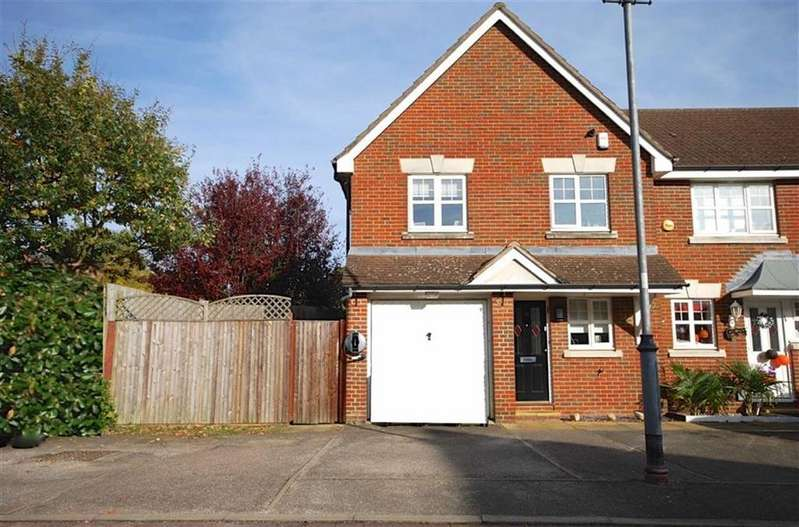 3 Bedrooms End Of Terrace House for sale in Greenwood Gardens, Shenley