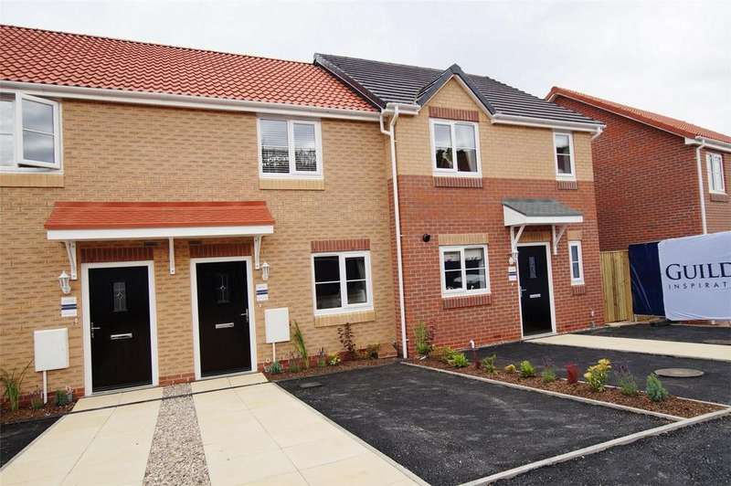 2 Bedrooms Terraced House for sale in Olivers Heights, Blueberry Way, Scarborough