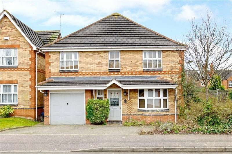 4 Bedrooms Detached House for sale in Leary Crescent, Newport Pagnell, Milton Keynes, Buckinghamshire