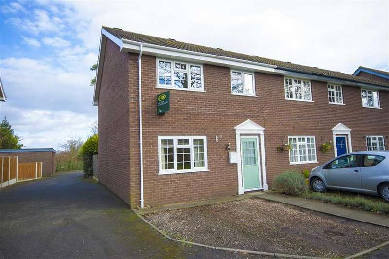 3 Bedrooms End Of Terrace House for sale in Ruthen Court, Hunter Street, Shrewsbury, Shropshire
