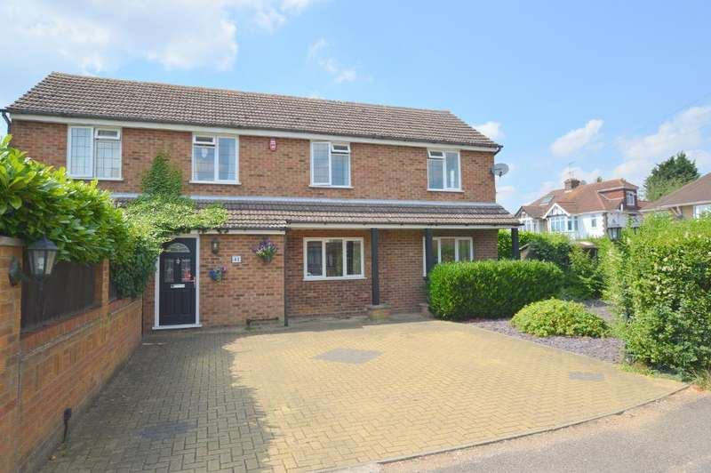 4 Bedrooms Detached House for sale in Ryecroft Way, Stopsley, Luton, LU2 7TU