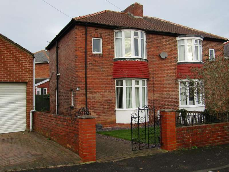2 Bedrooms Semi Detached House for sale in Naylor Avenue, Winlaton Mill, Blaydon, Tyne and Wear, NE21 6SA