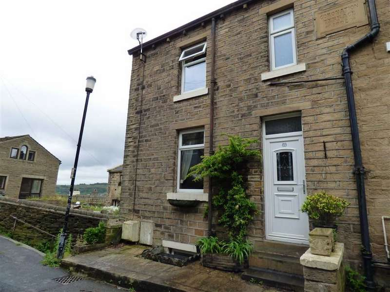 2 Bedrooms Property for sale in Handel Street, Golcar, HUDDERSFIELD, West Yorkshire, HD7