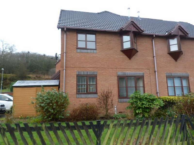 2 Bedrooms Terraced House for sale in Holly Court, Barnfields, Newtown