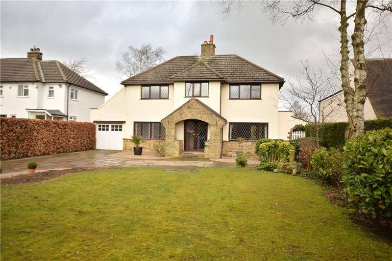 5 Bedrooms Detached House for sale in Avalon, Creskeld Lane, Bramhope, Leeds, West Yorkshire