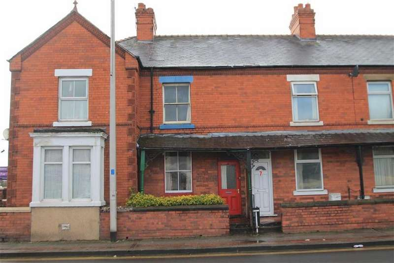 2 Bedrooms Terraced House for sale in Mold Road, Wrexham, Wrexham