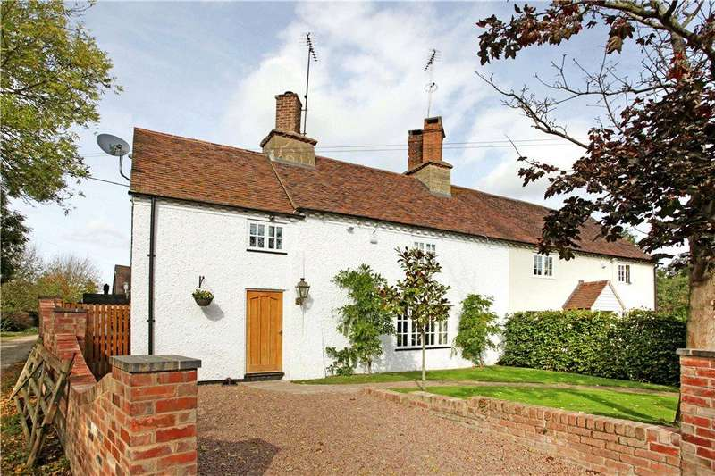 3 Bedrooms Semi Detached House for sale in Brook Lane, Cropthorne, Pershore, Worcestershire, WR10