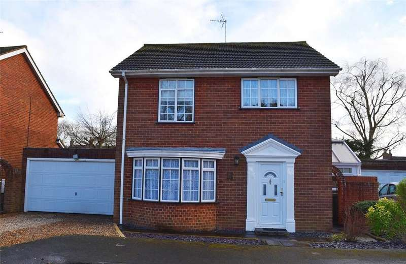 4 Bedrooms Detached House for sale in Farm Close, Stewkley