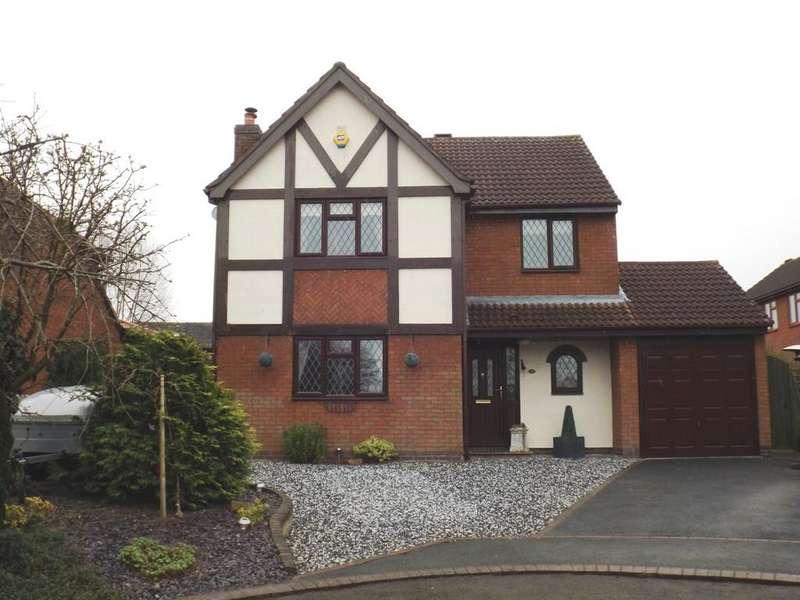 4 Bedrooms Detached House for sale in Batterbee Court, Haslington