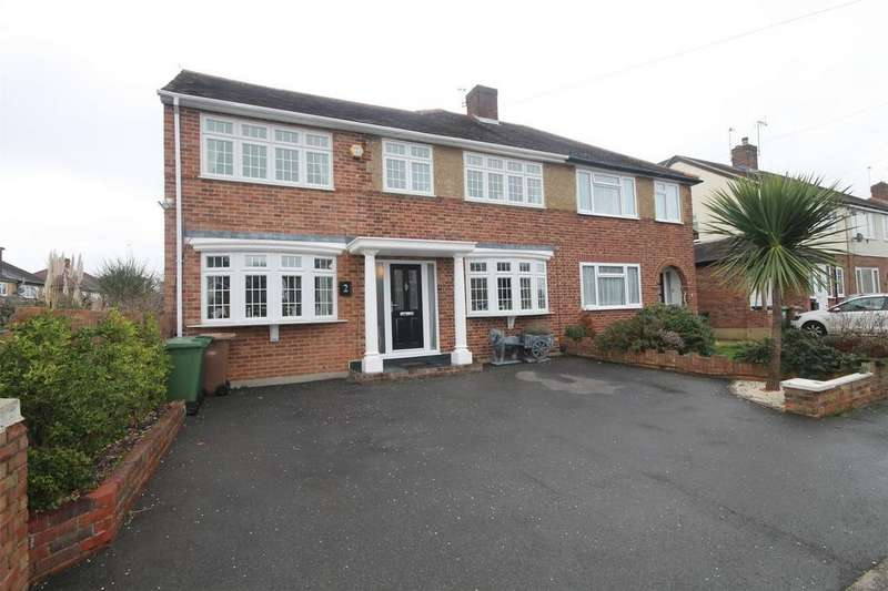 4 Bedrooms Semi Detached House for sale in Gilmore Crescent, Ashford, Surrey