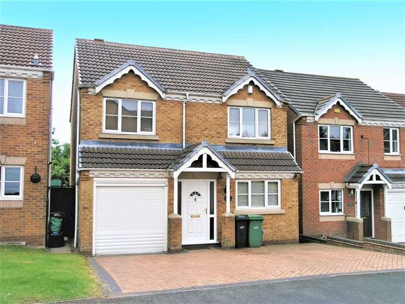 4 Bedrooms Detached House for sale in Richborough Drive, Dudley