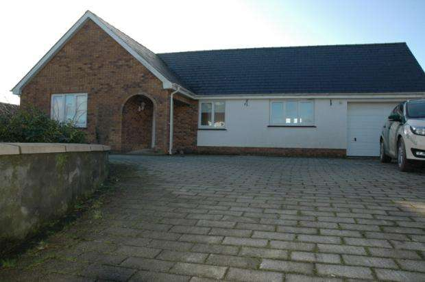 3 Bedrooms Detached Bungalow for sale in Bettws Ifan, Newcastle Emlyn, Ceredigion