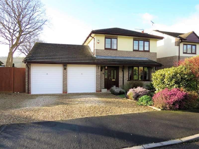 4 Bedrooms Detached House for sale in Shapley Way, Liverton, Newton Abbot