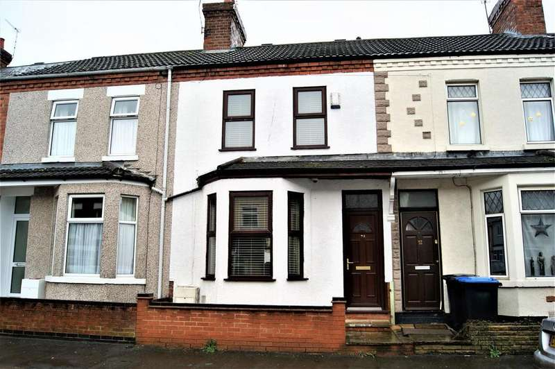 2 Bedrooms Terraced House for sale in Victoria Street, New Bilton, Rugby