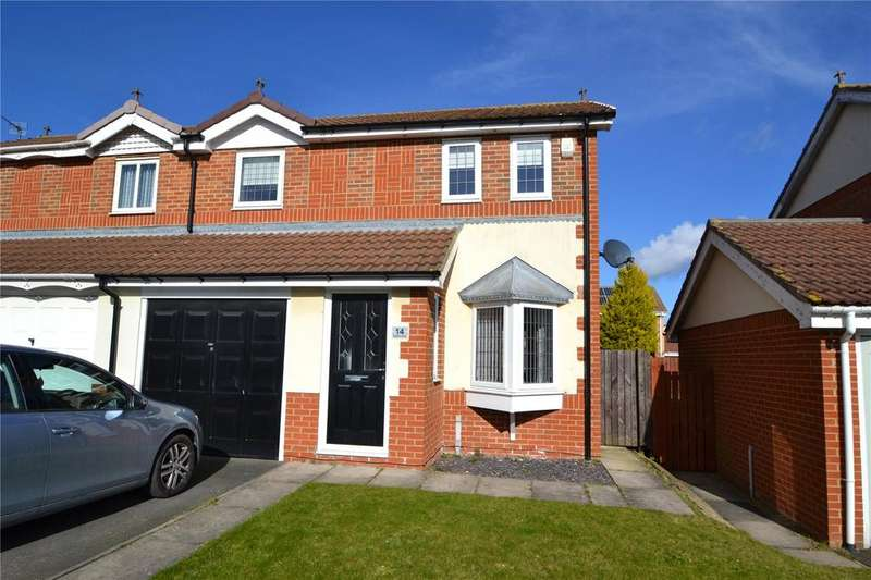 3 Bedrooms Semi Detached House for sale in Welburn Close, Shotton, Co.Durham, DH6