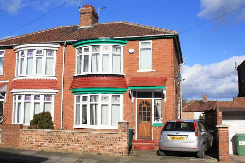 3 Bedrooms Semi Detached House for sale in Beaconsfield Road, Norton, TS20