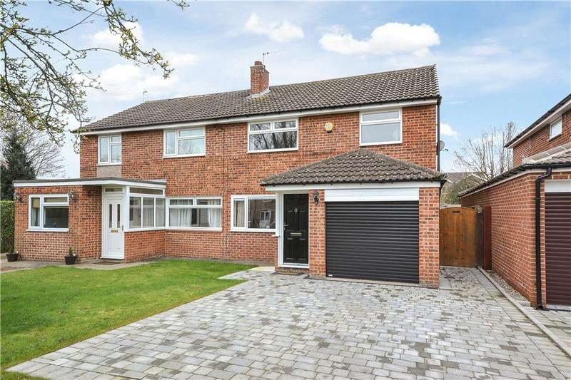 4 Bedrooms Semi Detached House for sale in Riverslea, Stokesley, North Yorkshire