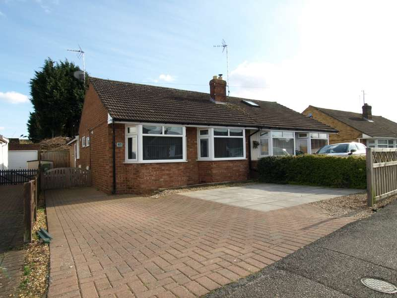 2 Bedrooms Bungalow for sale in Linford Avenue, Newport Pagnell, Buckinghamshire