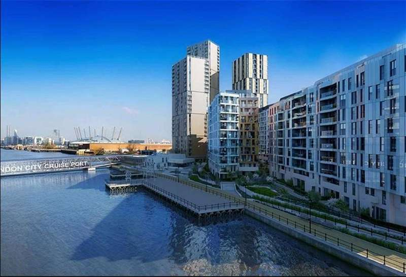 1 Bedroom Property for sale in Enderby Wharf, Greenwich, London, SE10