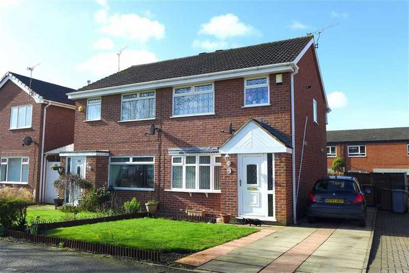 3 Bedrooms Semi Detached House for sale in Heron Crescent, Sydney, Crewe